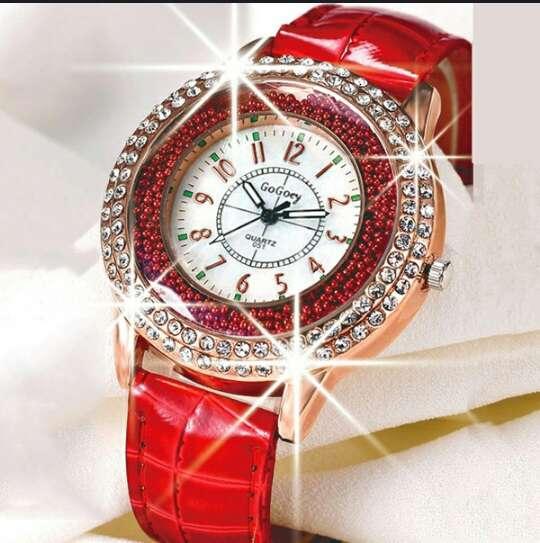 Imagen GoGoey reloj cuarzo en cuero