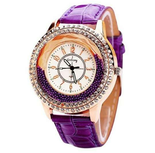 Imagen producto GoGoey reloj cuarzo en cuero  2