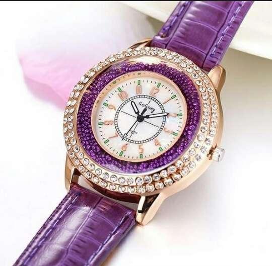 Imagen producto GoGoey reloj cuarzo en cuero  3