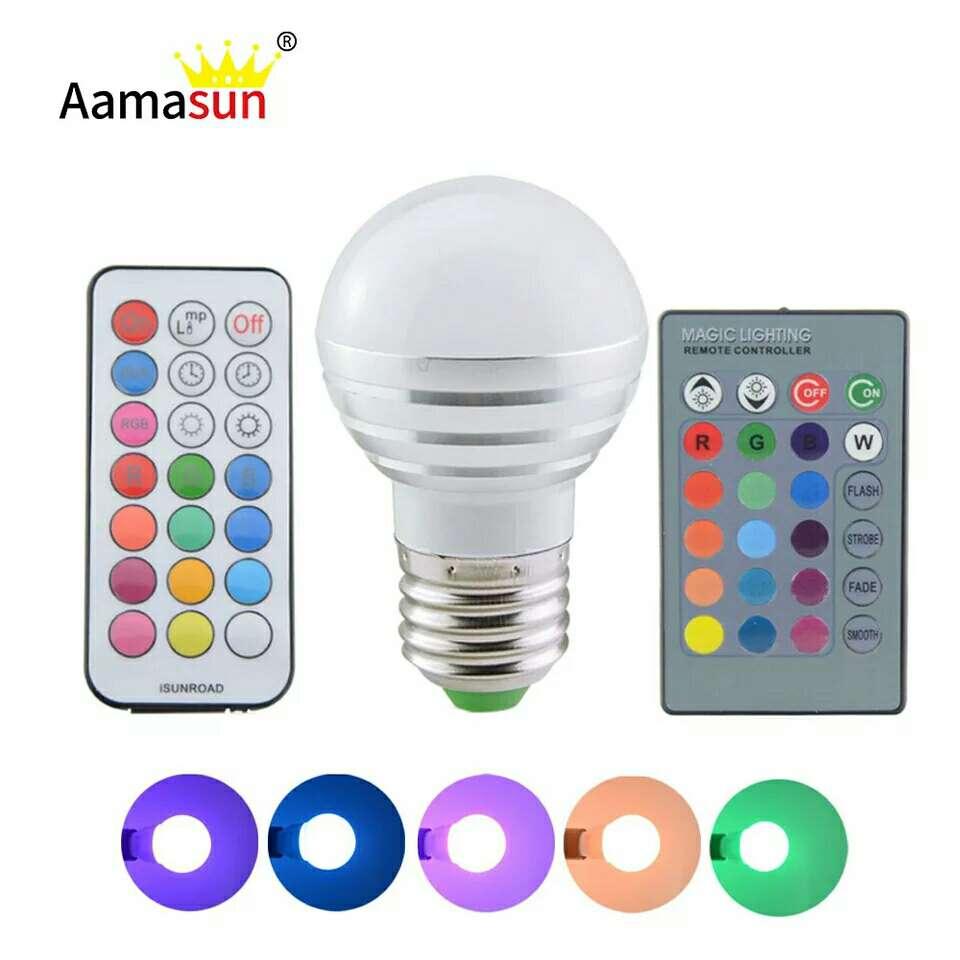 Imagen producto Bombilla LED multiculores.luz noche atmósfera de navidad  4
