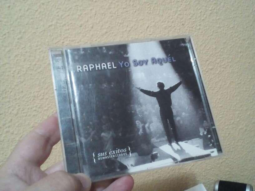 Imagen doble cd cantante Raphael