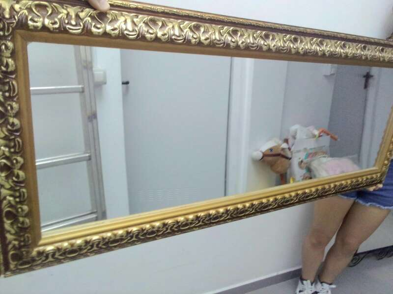 Imagen espejo sin uso