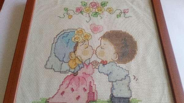 Imagen Cuadro de niños de boda