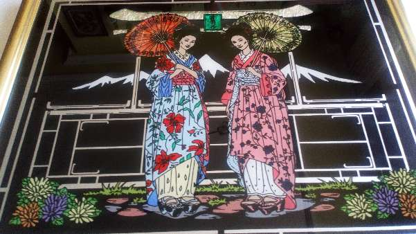Imagen Cuadro de japonesas