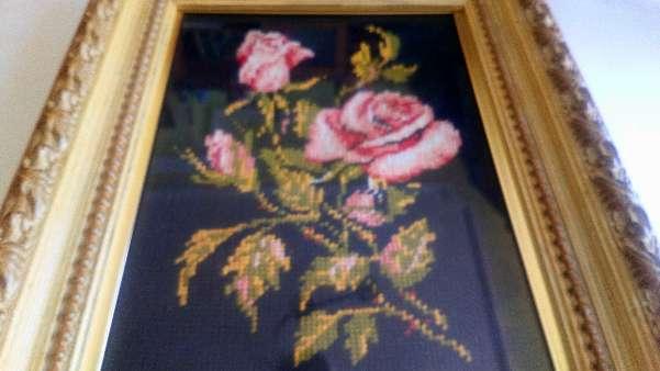 Imagen Cuadro de rosas