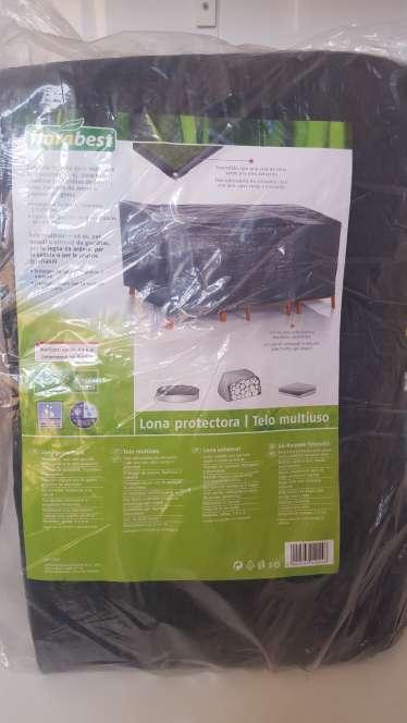 Imagen Lona protectora multiuso impermeable 5x4 m