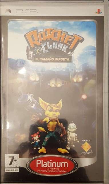 Imagen PSP (UMD) Ratchet & Clank. El tamaño importa
