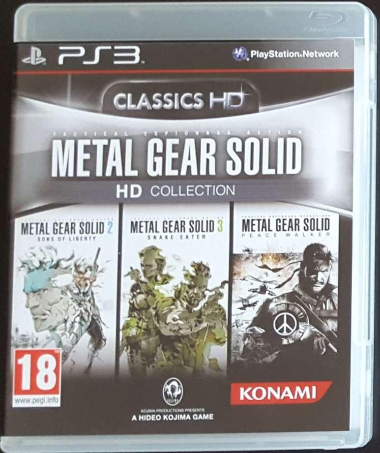 Imagen PS3 Metal Gear Solid HD Collection (3 juegos)