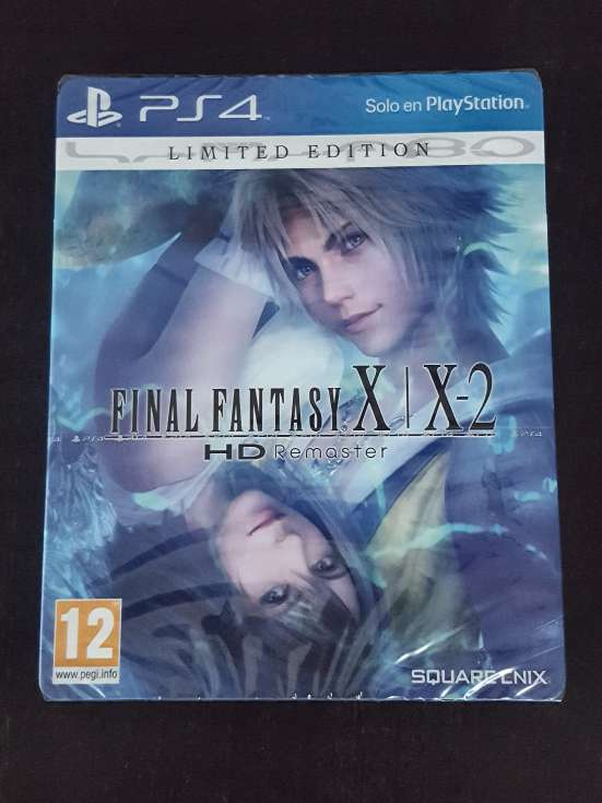 Imagen PS4 Final Fantasy X/X-2 HD ed. limitada precintado