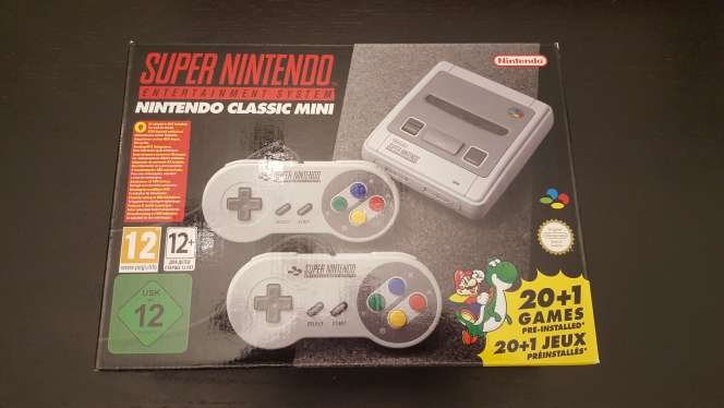 Imagen SNES Consola Super Nintendo Classic Mini nueva