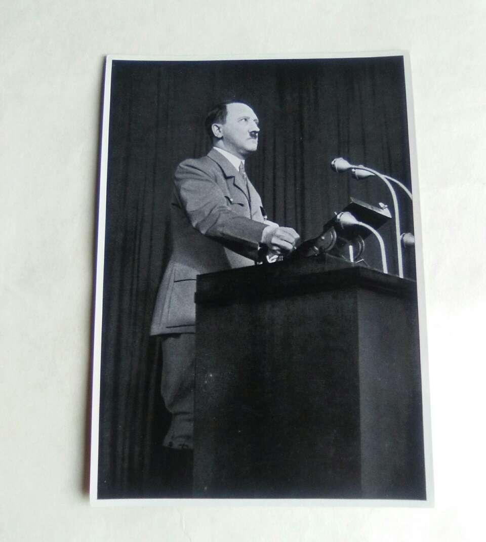 Imagen Adolf Hitler. Fotografía de la II Guerra mundial