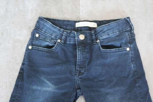 Imagen jean semi corto azul oscuro