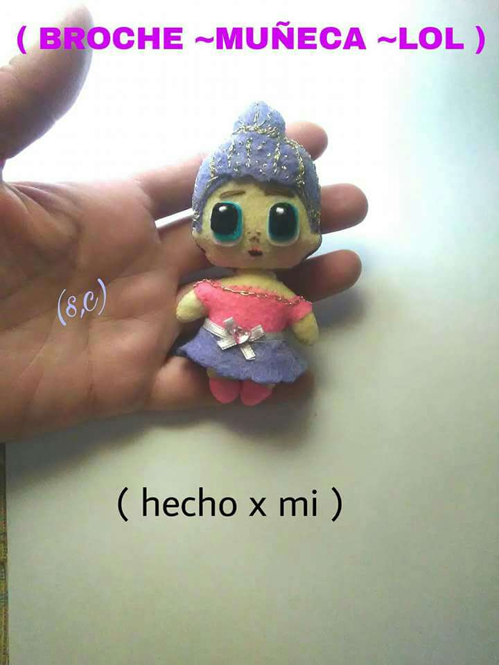Imagen Broche muñeca lol surprise