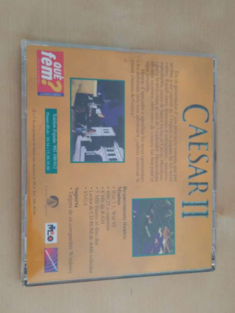 Imagen producto Caesar II PC videojuego retro 3