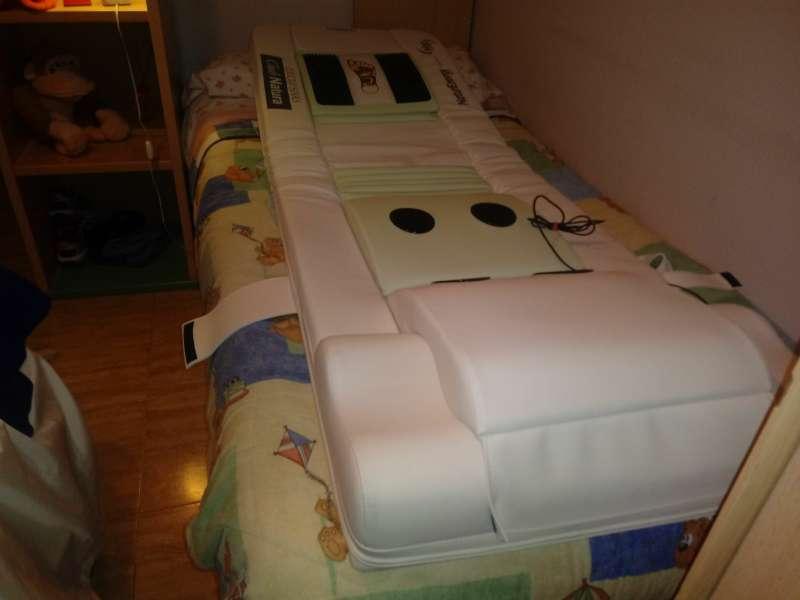 Imagen camilla de masajes con unfrarrojos