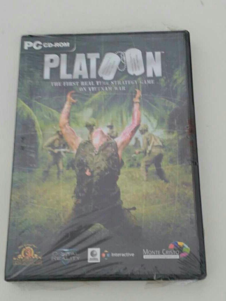 Imagen Platoon PC videojuego retro