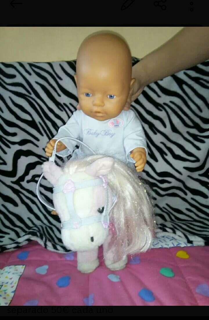 Imagen baby born con pony sonidos