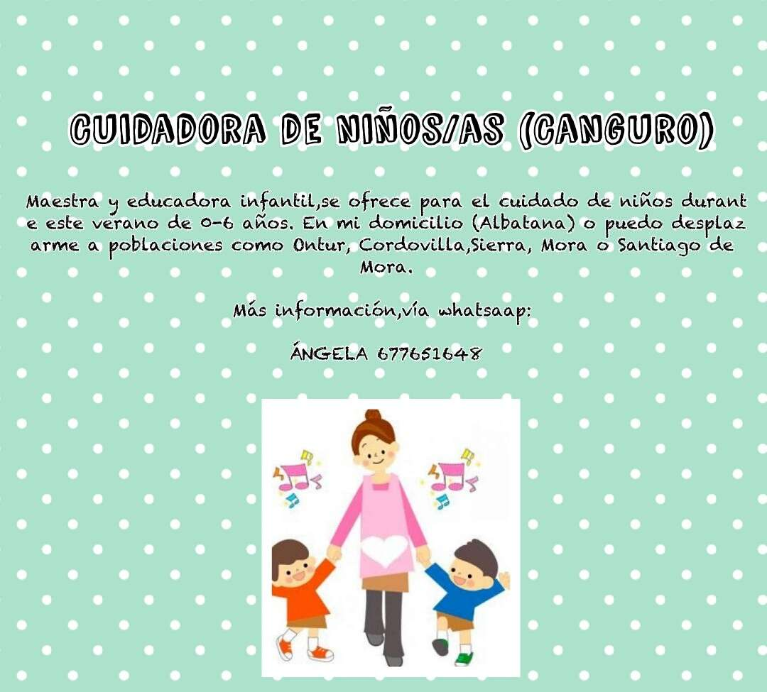 Imagen Cuidadora de niños (maestra)