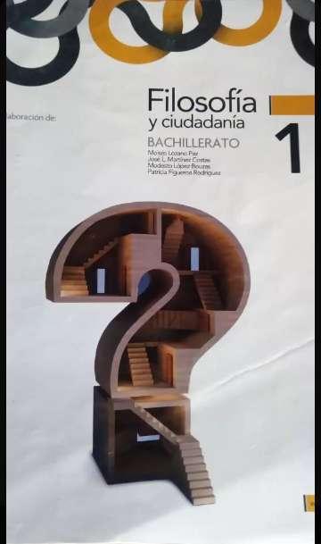 Imagen Filosofía y Ciudadanía 1º bachillerato
