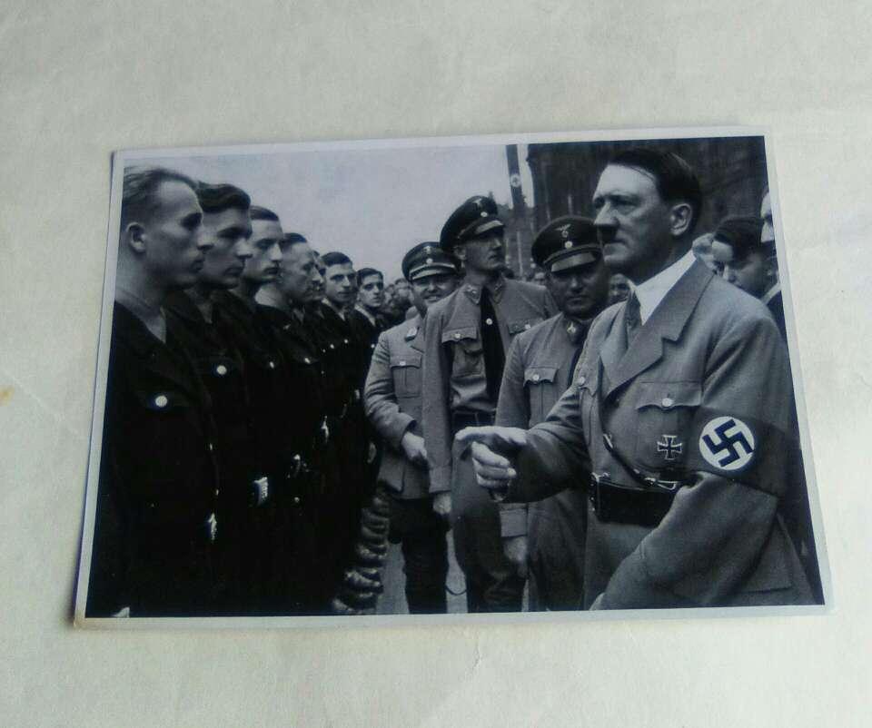 Imagen Fotografía  Adolf Hitler  2*GM. Coleccionismo.