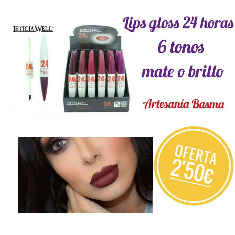 Imagen producto Lips Gloss 24h  1
