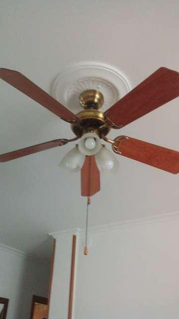 Imagen producto Lámpara ventilador luces led 4