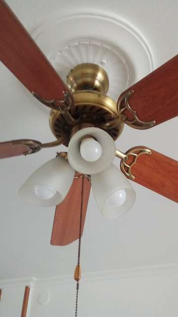 Imagen producto Lámpara ventilador luces led 2