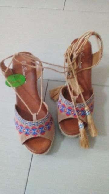 Imagen zapato de esparto nuevos