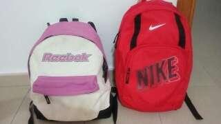 Imagen dos mochilas