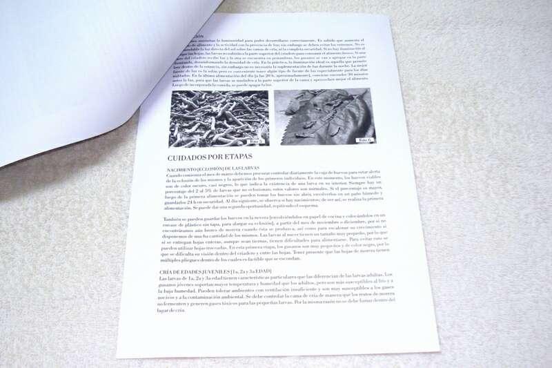Imagen producto Guía práctica para la cría y cuidado de gusanos de seda 5