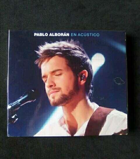 Imagen CD + DVD Pablo Alborán