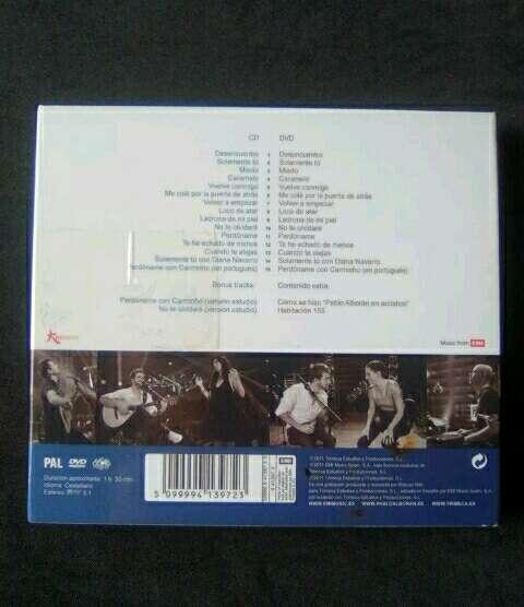 Imagen producto CD + DVD Pablo Alborán  2