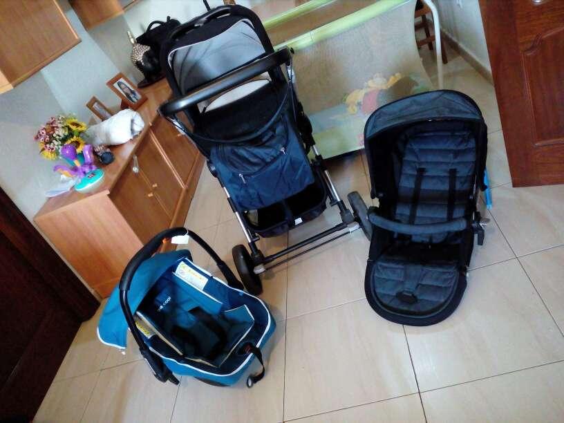 Imagen producto Cochecito completo para bebes 2