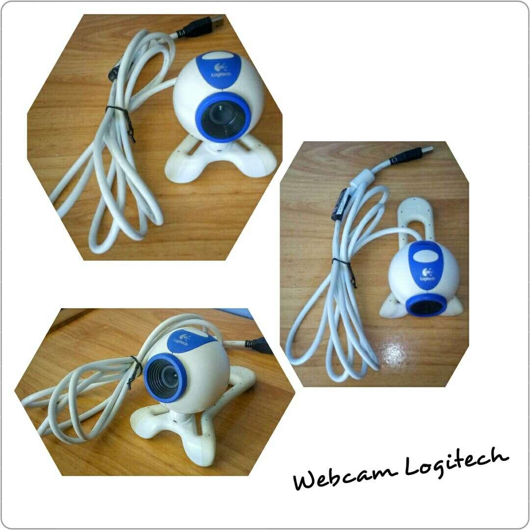 Imagen Webcam Logitech Nunca Usada