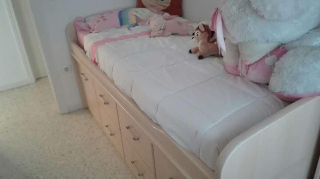Imagen dos camas con cajones