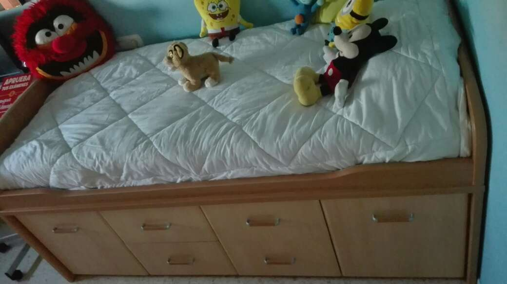 Imagen producto Dos camas con cajones 8