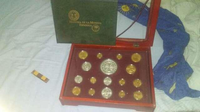 Imagen monedas de España antiguas