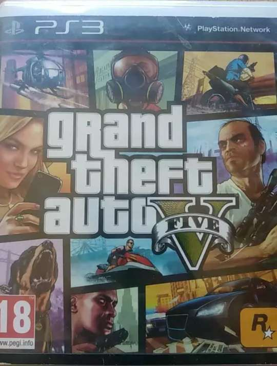 Imagen Gta v ps3 Grand theft auto