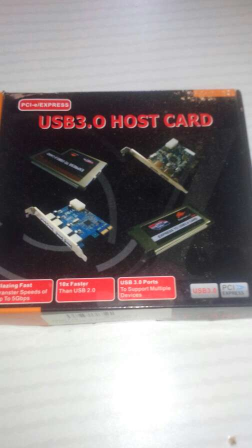 Imagen tarjeta 2 USB 3.0 PCI expresa 1x