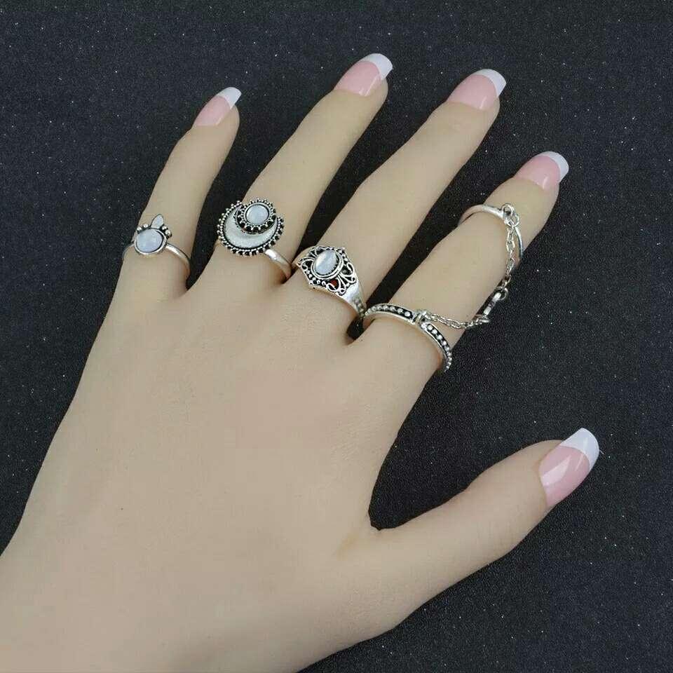 Imagen producto Lote cuatro anillos 3