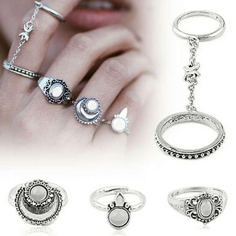 Imagen producto Lote cuatro anillos 2