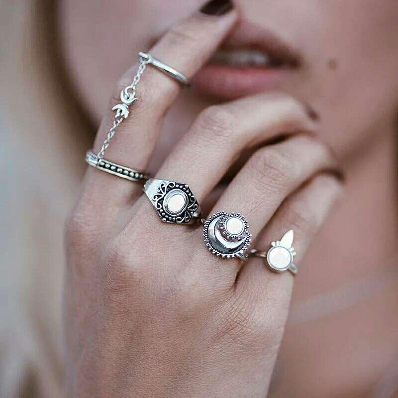 Imagen Lote cuatro anillos