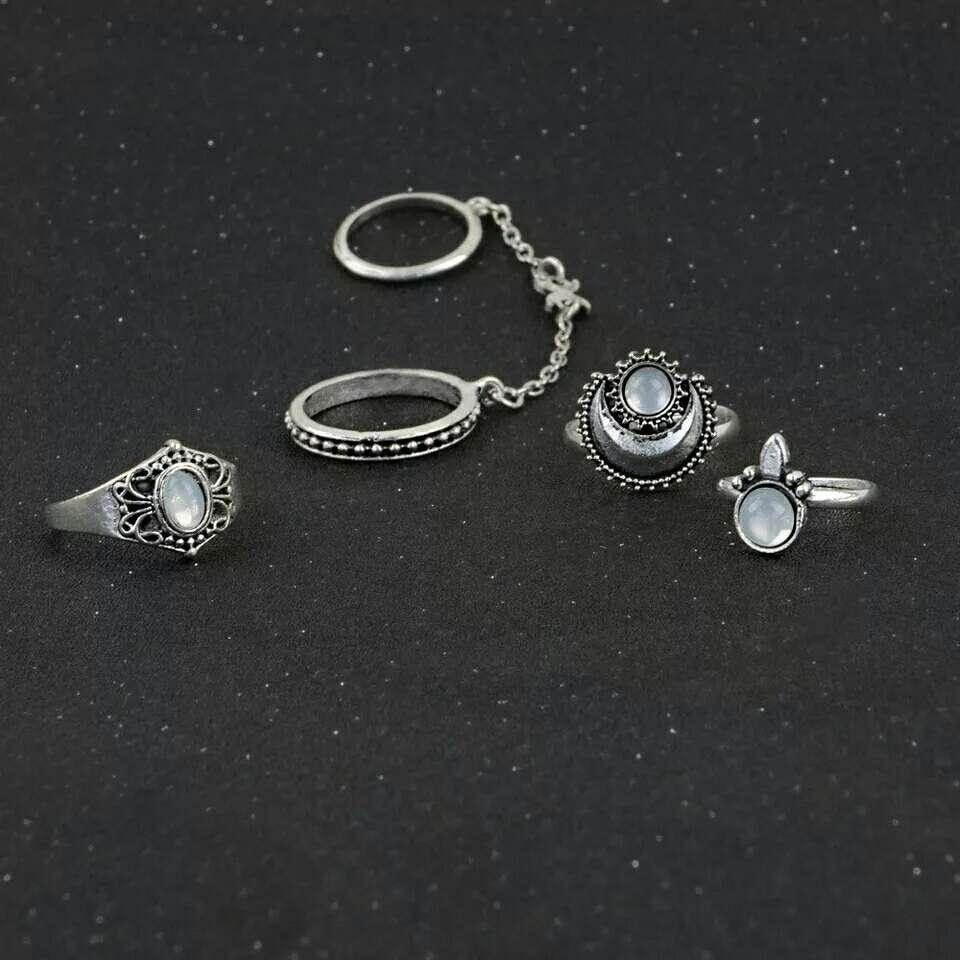 Imagen producto Lote cuatro anillos 4
