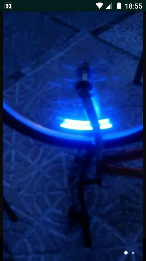 Imagen luces para moto o bici
