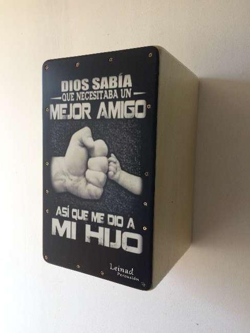 Imagen producto Cajon flamenco personalizado 5