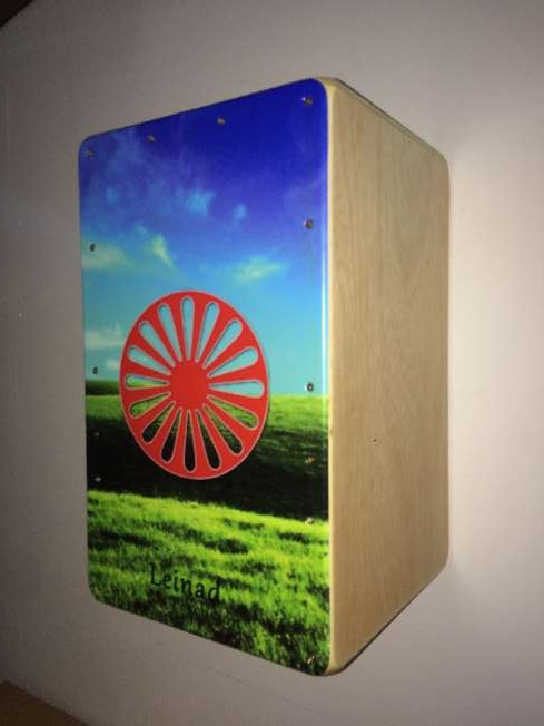 Imagen producto Cajon flamenco personalizado 6