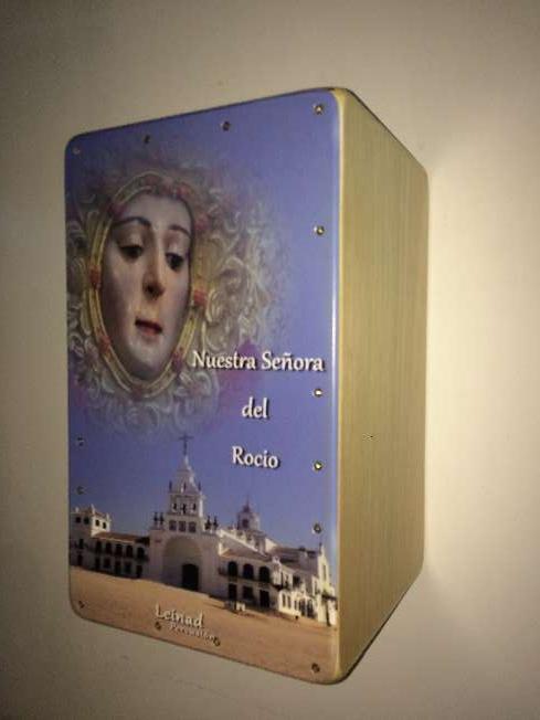 Imagen producto Cajon flamenco personalizado 4