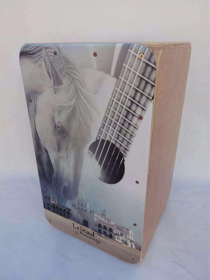 Imagen producto Cajon flamenco personalizado 7
