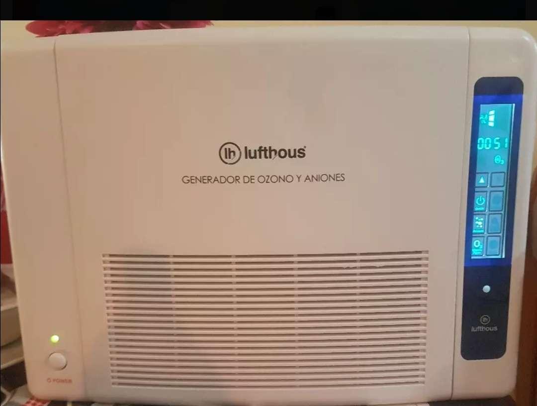 Imagen producto Generador de oxígeno y ozono. Purificador de aire. 4