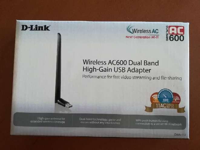 Imagen Adaptador USB inalambrico alta ganancia y doble banda